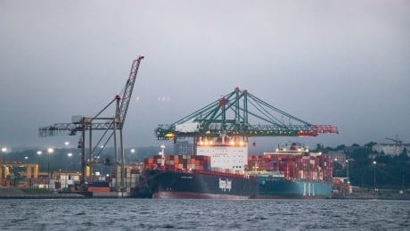 Bedford Container Terminal Halifax