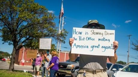 Michigan Postal Service Protest