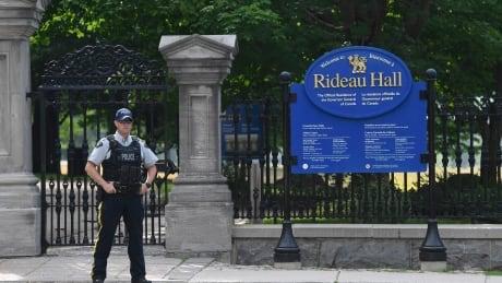 Rideau Hall Police 20200717