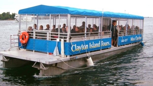 clayton island tours st lawrence.'