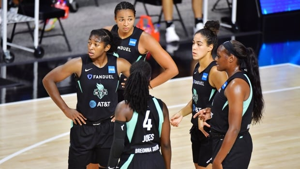 Kia Nurse pours in 21 points, but losses piling up for Liberty | CBC Sports