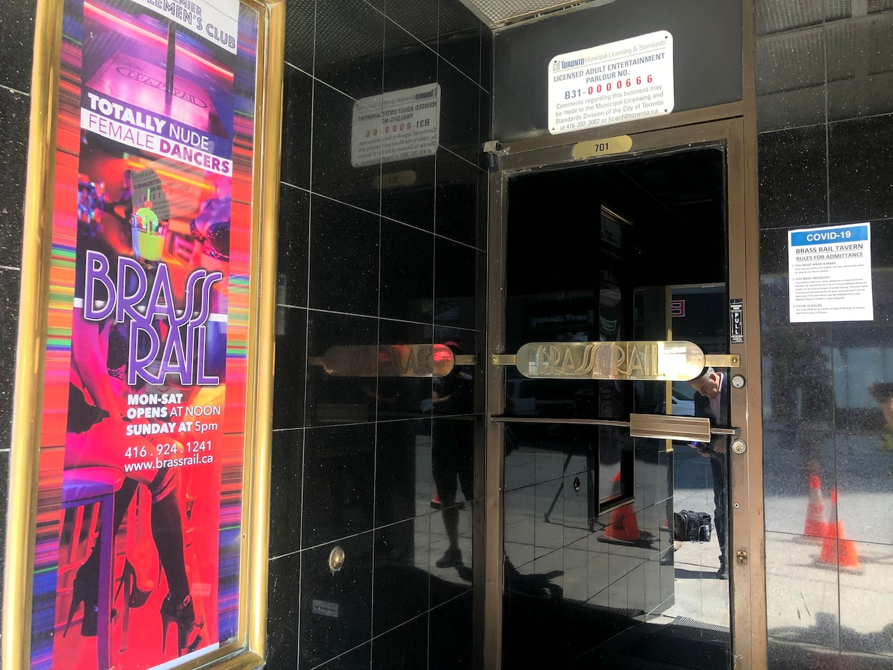 City Warns Hundreds May Have Been Exposed To Covid 19 At Brass Rail Strip Club Cbc News