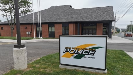 The new Cape Breton Regional Police East Division Headquarters in Glace Bay