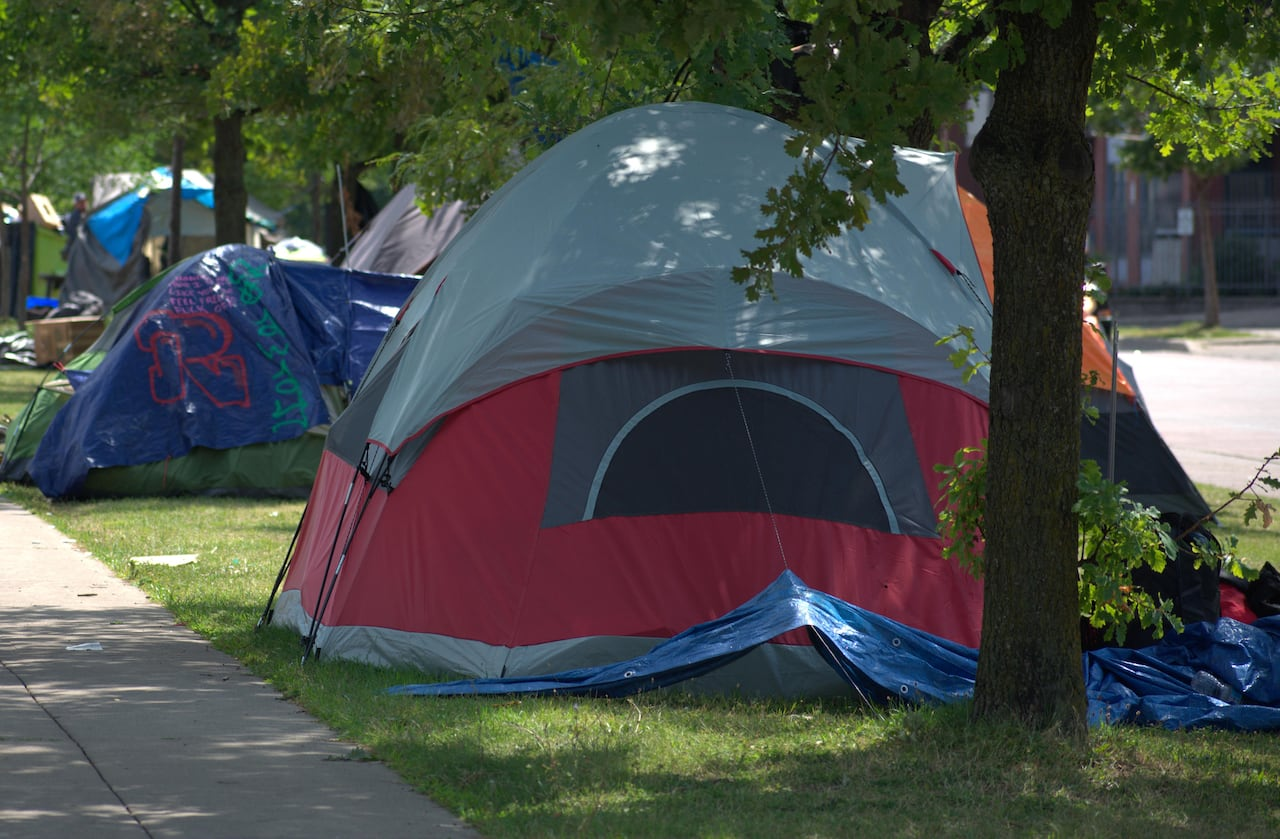 New Agreement Will See Large Tent Encampments Dismantled In Downtown Hamilton Cbc News