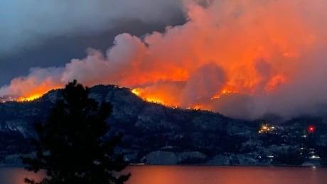Christie Mountain fire