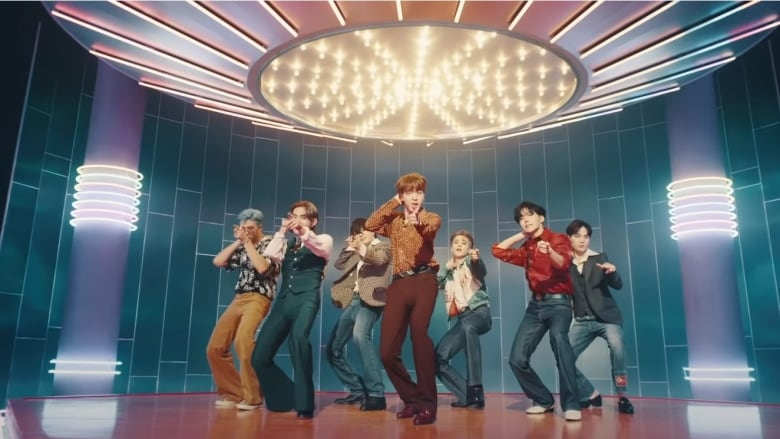 BTS 'new' Dynamite 'video is an explosion of sugary disco pop sunshine