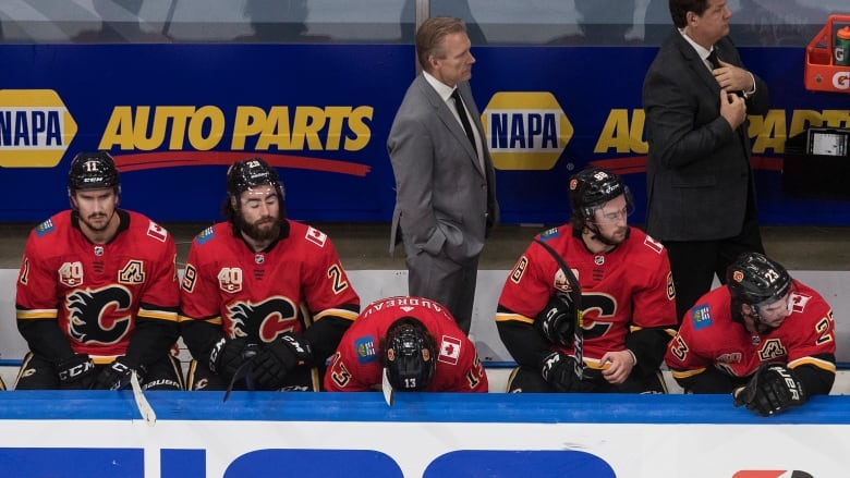 Flames Collapse The Kind Of Loss That Could Lead To Overhaul Of Roster Cbc Sports
