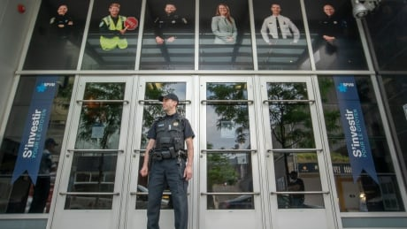 <div>How Montreal's police force spends its 9M budget</div>