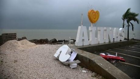APTOPIX Puerto Rico Tropical Storm