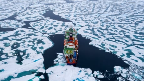 Polarstern near North Pole