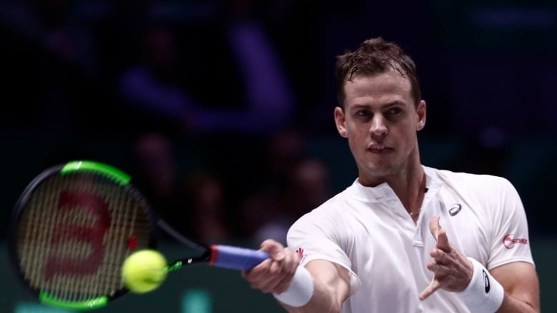 Djokovic Pospisil Eyeing Formation Of New Men S Tennis Players Union Cbc Sports