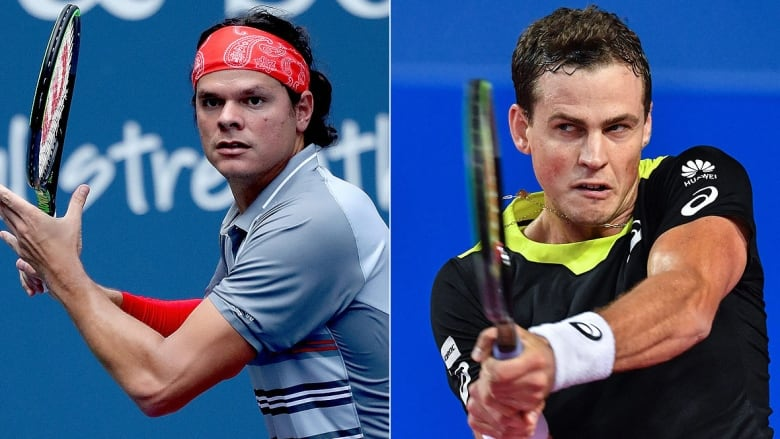Raonic, Pospisil ready to resume rivalry at U.S. Open from junior days