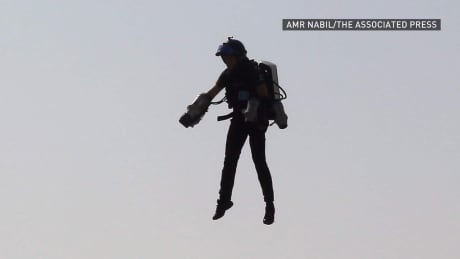Airline pilots report person on jetpack near LAX