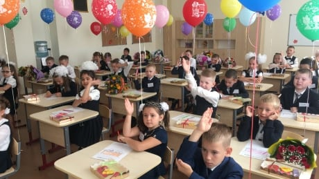 Back to school in Russia