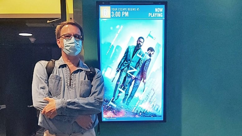 Why this Canadian is watching Christopher Nolan's Tenet in theatres 120  times | CBC Radio