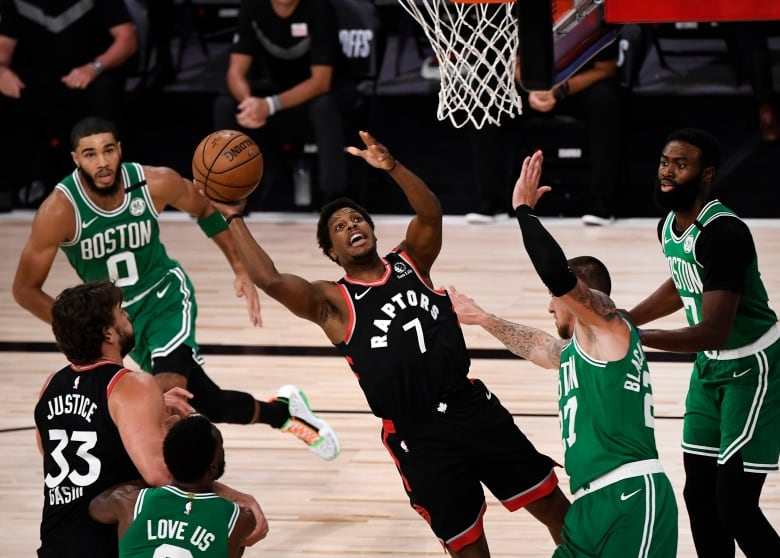 Og For 3 Anunoby S Miraculous Buzzer Beater Lifts Raptors Over Celtics Cbc Sports