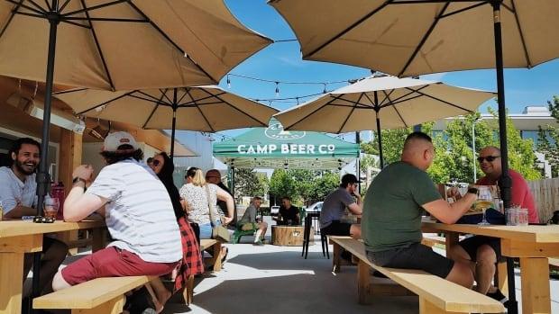 B.C. offers to make temporary patio licences permanent   CBC News