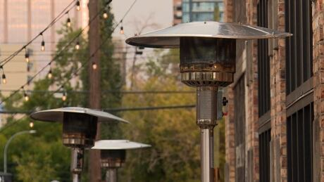 Patio lamp heaters