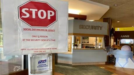 Cambrian College security desk