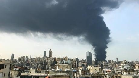 LEBANON-CRISIS/FIRE