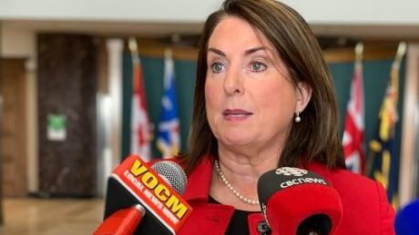 finance minister Siobhan Coady