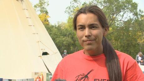 Tristen Durocher's final day at Wascana Park