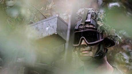 Recon Soldier in Latvia