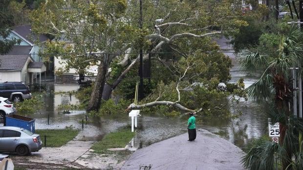 Sally weakens to tropical depression, leaves massive floods on U.S. Gulf Coast