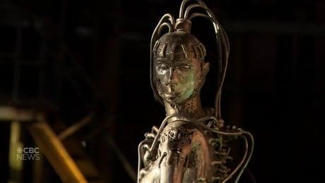 Love of sci-fi inspires Edmonton welder's art