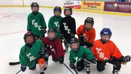 Under 7s minor hockey