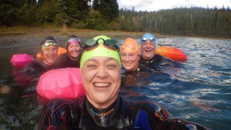 Yukon wild swimmers