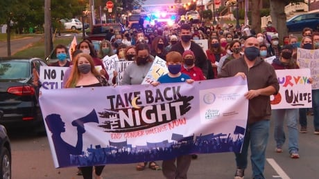 Take back the night march
