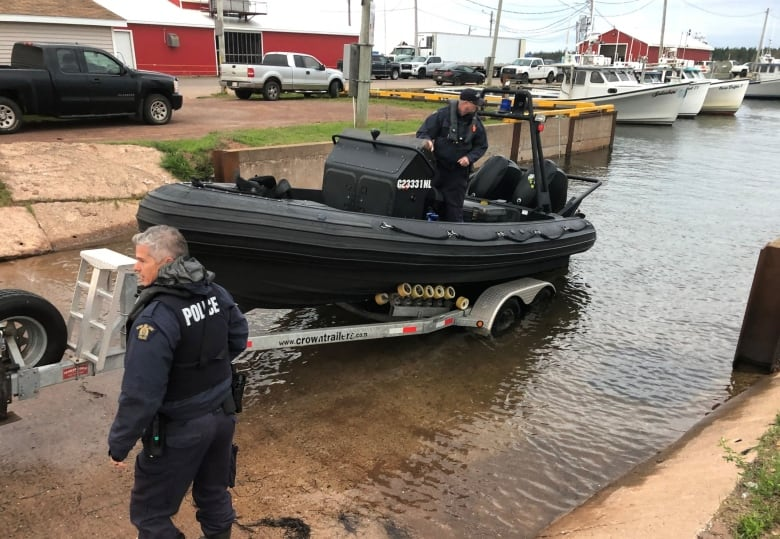 P.E.I. teens missing after boat capsized identified as Alex Hutchinson and Ethan Reilly