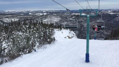 Ski lift marble mountain