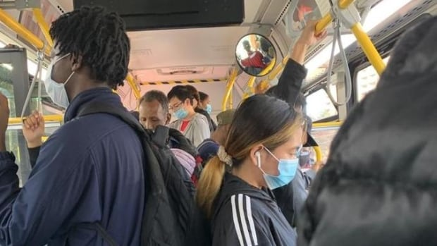 Overcrowded buses worry commuters as COVID-19 cases rise, weather turns colder