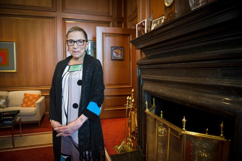 'She set an example for us': Crowd honours RBG at Supreme Court