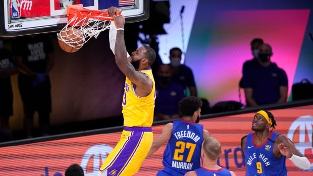 LeBron's Lakers roll in beatdown of Jamal Murray, Nuggets to open West final