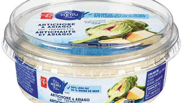 Loblaws issues national recall for artichoke dip