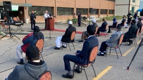 Mosque vigil
