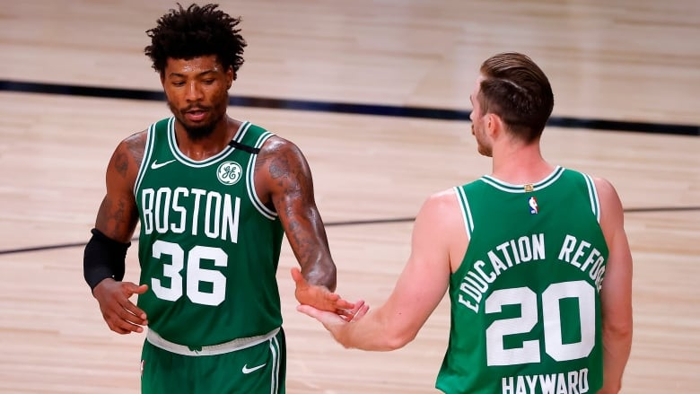 Celtics Bounce Back From Consecutive Losses To Beat Heat Cbc Sports