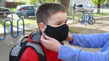 Masks for students in Manitoba