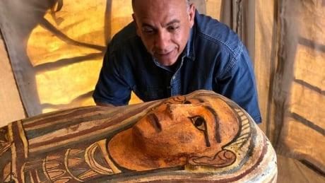 EGYPT-ARCHAEOLOGY/SARCOPHAGI