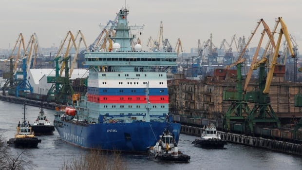 Russia says world's largest nuclear icebreaker embarking on Arctic voyage