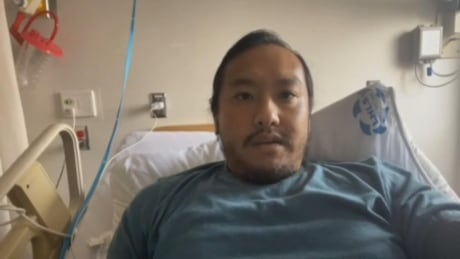 Windsor man, 34, has this message for his peers as COVID-19 lands him in hospital
