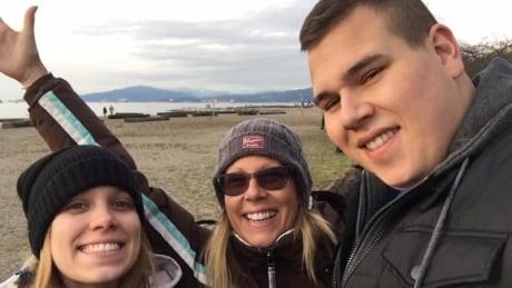 Jordan Brazier, Lori Dent and Taylor Brazier