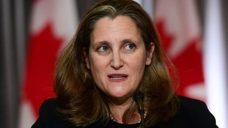 Chrystia Freeland on supporting Canadians and the economy