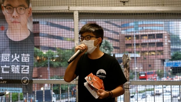 Hong Kong democracy activist Joshua Wong arrested for 2019 unauthorized assembly | CBC News