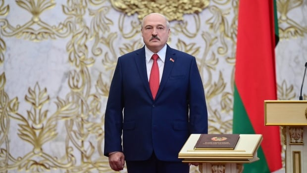 Canada denounces Lukashenko's inauguration in Belarus, preparing sanctions over human rights violations | CBC News