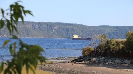 Ship, Saguenay, Fjord