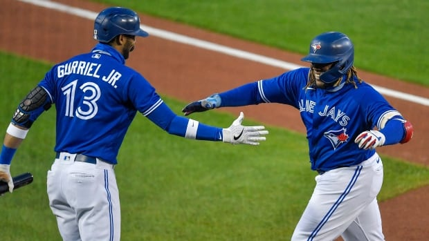 Blue Jays clinch 1st post-season appearance since 2016 after defeating Yankees | CBC Sports